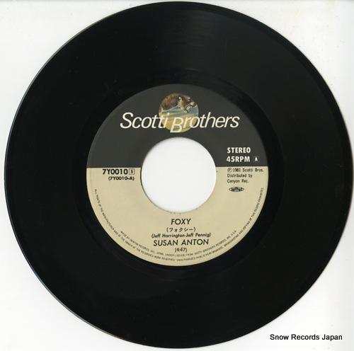 ANTON, SUSAN foxy 7Y0010 - disc