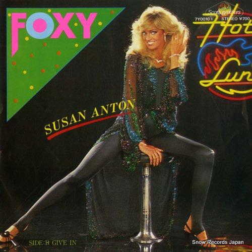 ANTON, SUSAN foxy 7Y0010 - front cover