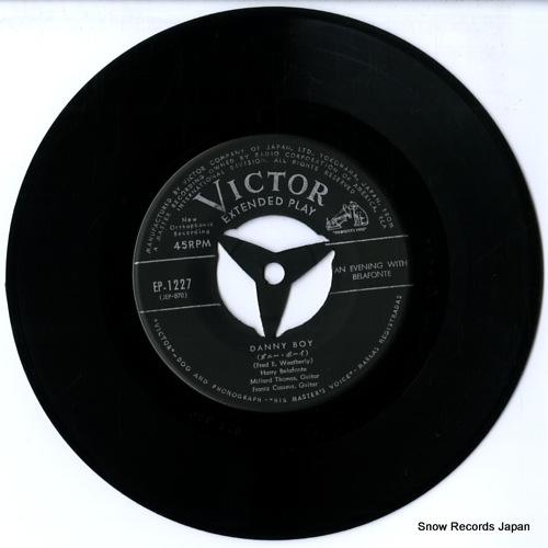 BELAFONTE, HARRY danny boy EP-1227 - disc