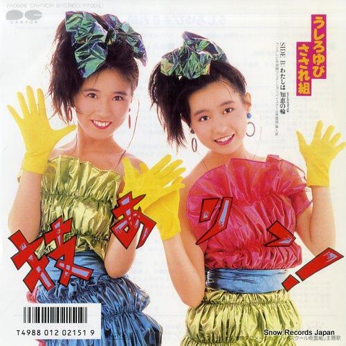 USHIROYUBI SASAREGUMI wazaari 7A0666 - front cover