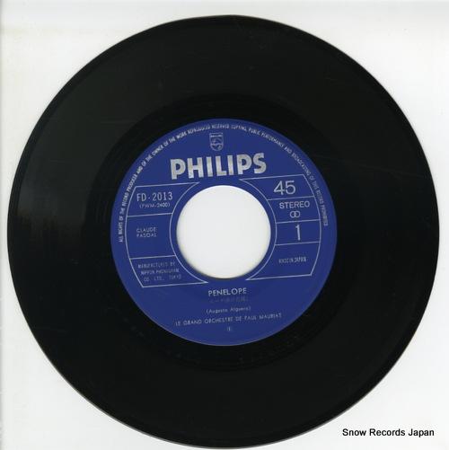 MAURIAT, PAUL penelope FD-2013 - disc