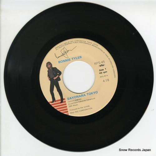 TYLER, BONNIE sayonara tokyo RPS-45 - disc