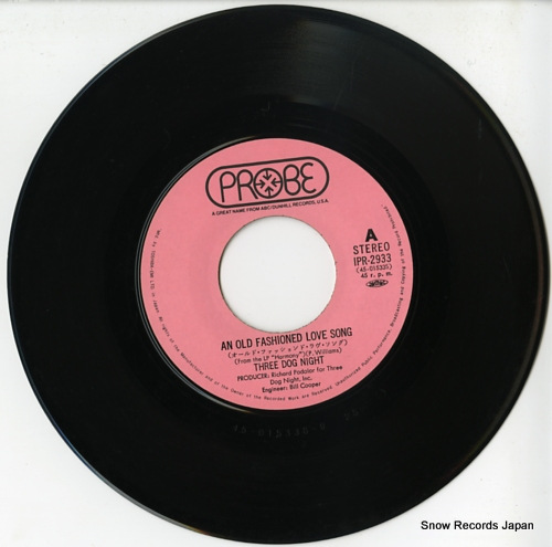 THREE DOG NIGHT an old fashioned love song IPR-2933 - disc