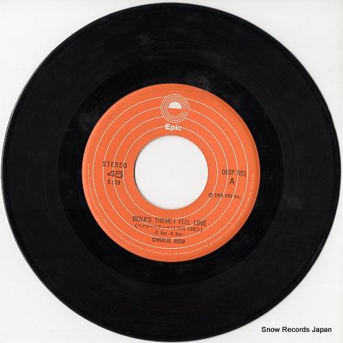 RICH, CHARLIE benji's theme i feel love 06SP7 - disc