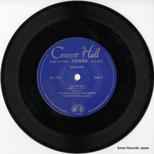 GOEHR, WALTER smetana; the moldau M938 - disc