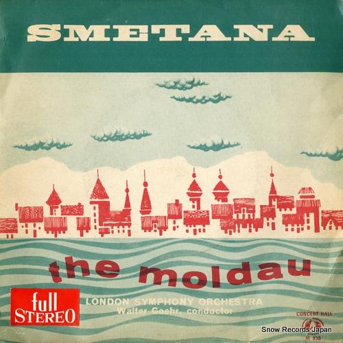 GOEHR, WALTER smetana; the moldau M938 - front cover