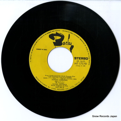 DINTRICH, MICHEL adagio cardinal HIT-1717 - disc