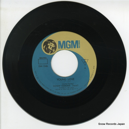 OSMOND, DONNY young love DM1246 - disc