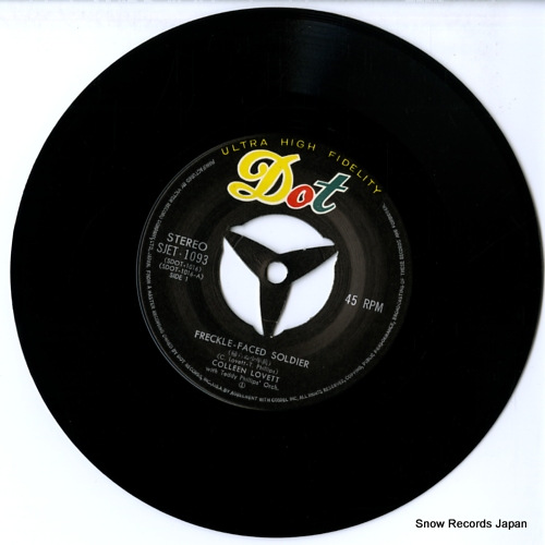 LOVETT, COLLEEN freckle-faced soldier SJET-1093 - disc