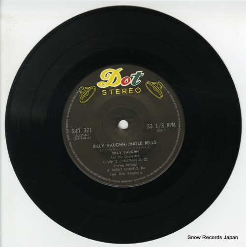 VAUGHN, BILLY jingle bells SJET-321 - disc