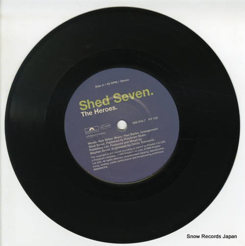 SHED SEVEN the heroes PY102 / 569916-7 - disc