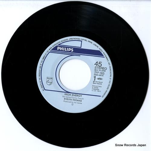 THOMAS, EVELYN high energy 7PP-165 - disc