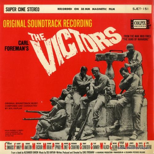 KAPLAN, SOL the victors SJET-151 - front cover