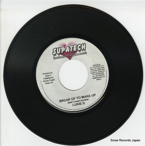 LUKIE D break up to make up B41201 - disc
