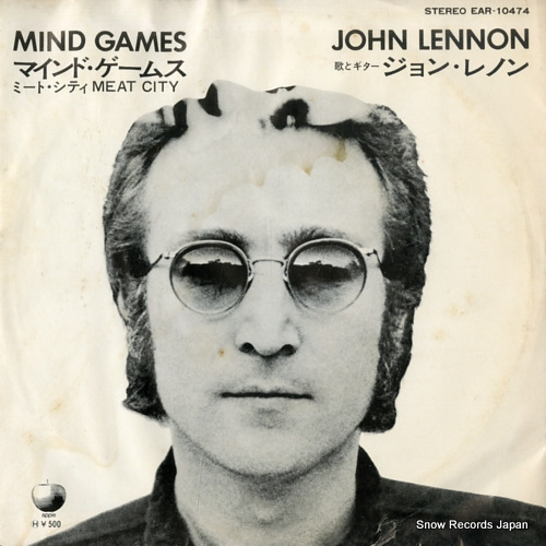 LENNON, JOHN mind games