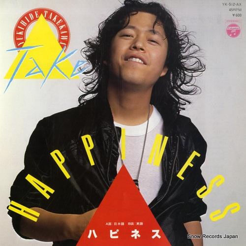 TAKEKAWA, YUKIHIDE happiness YK-512-AX - front cover