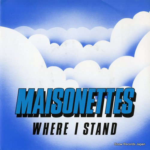 MAISONETTES, THE where i stand RSG2 - front cover