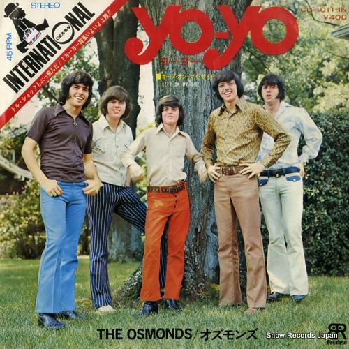 OSMONDS, THE yo-yo CD-1011-IN - front cover