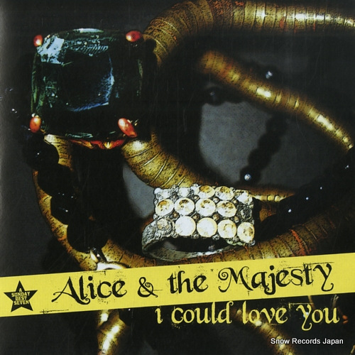 ALICE AND THE MAJESTY i could love you SBESTS54 - front cover