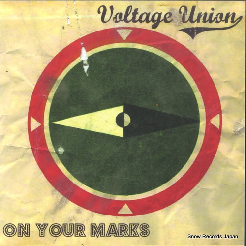 VOLTAGE UNION on your marks DTTR022 - front cover