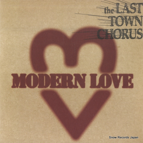LAST TOWN CHORUS, THE modern love VJS8 - front cover