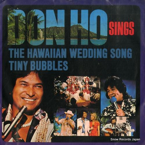 HO DON - the hawaiian wedding song - 7inch x 1