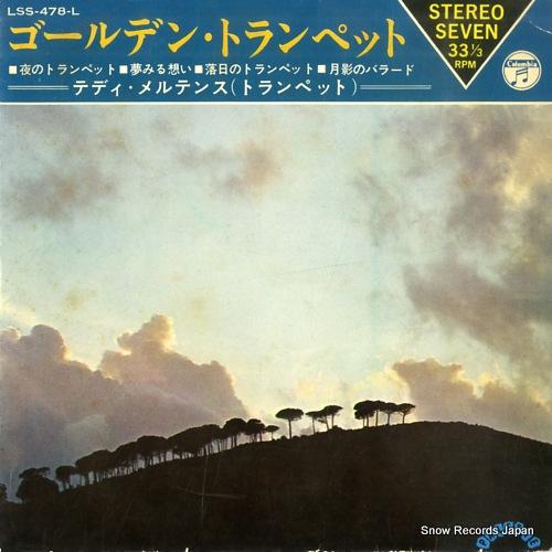 MERTENS, TEDDY golden trumpet LSS-478-L - front cover