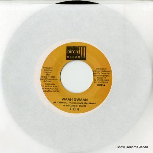 T.O.K waah gwaan MS005 - front cover