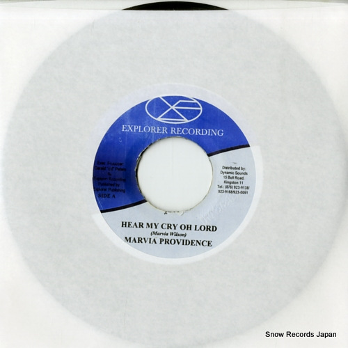 PROVIDENCE, MARVIA hear my cry oh lord MML332 - front cover