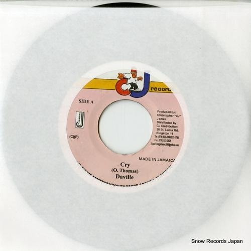 DA'VILLE cry DSRASIDE-894 - front cover