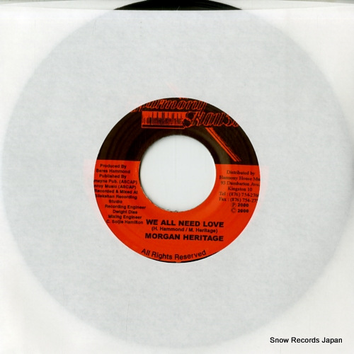 MORGAN HERITAGE we all need love DSRBSIDE-9423 - front cover