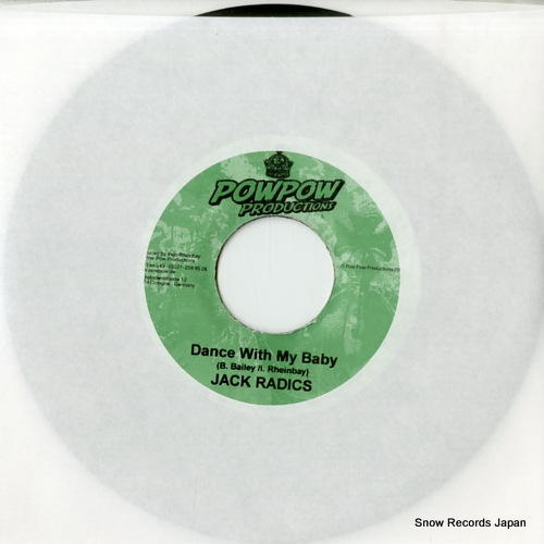 RADICS, JACK dance with my baby DSRASIDE-100 - front cover