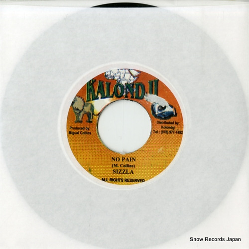 SIZZLA no pain ASIDE-26204 - front cover