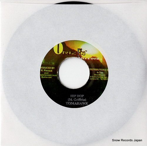 TOMAHAWK hip hop DSRASIDE-2208 - front cover