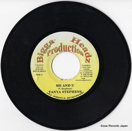 STEPHENS, TANYA me and u DSRASIDE-3034 - disc