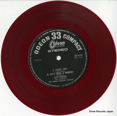 RICHARD, CLIFF lucky lips OP-4124 - disc