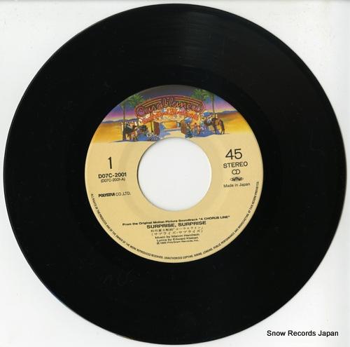 A CHORUS LINE surprise suprise D07C-2001 - disc