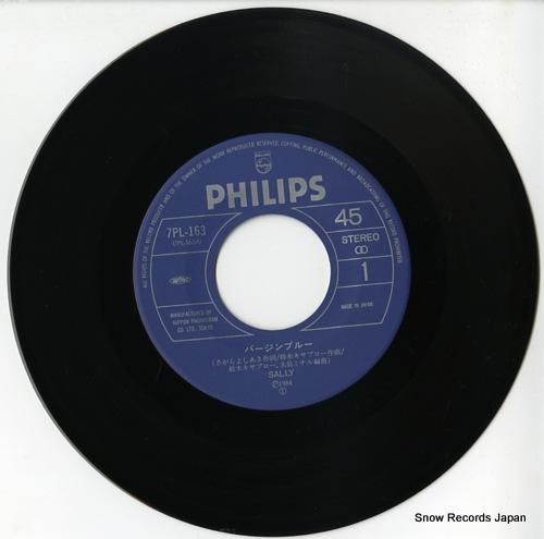 SALLY virgin blue 7PL-163 - disc