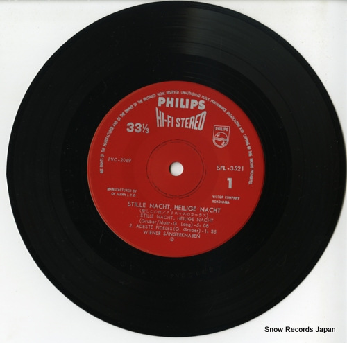 V/A stille nacht heilige nacht SFL-3521 - disc