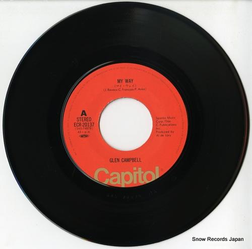 CAMPBELL, GLEN my way ECR-20137 - disc