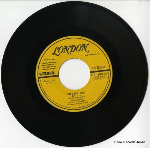 JONES, TOM ain't no love TOP-1960 - disc