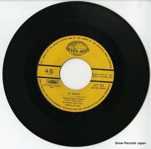 DALLARA, TONY la novia HIT-53 - disc
