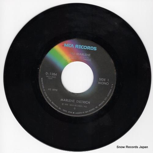 DIETRICH, MARLENE lili marlene D-1284 - disc