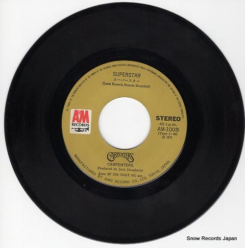CARPENTERS, THE superstar AM-100 - disc