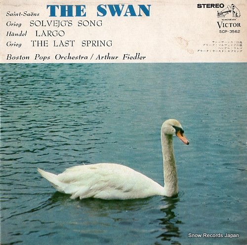 FIEDLER, ARTHUR saint-seans; the swan SCP-3562 - front cover