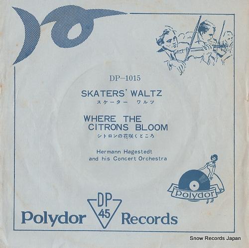 HAGESTEDT, HERMANN waldteufel; skater's waltz DP-1015 - front cover