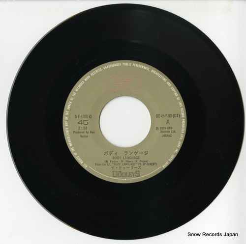 DOOLEYS, THE body language 06.5P-89 - disc