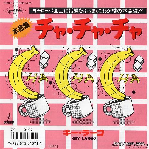 LARGO, KEY cha cha cha 7Y0109 - front cover