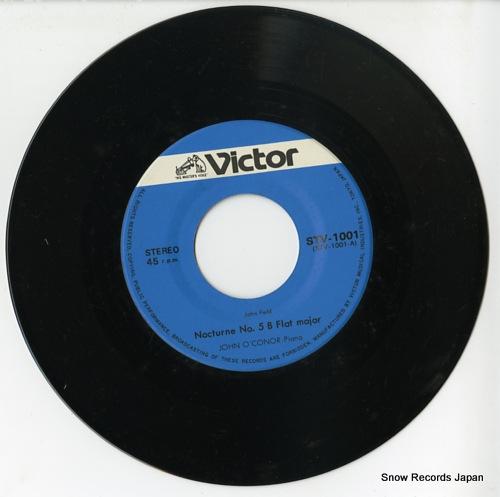 O'CONOR, JOHN john field; nocturne no.5 b flat major STV-1001 - disc
