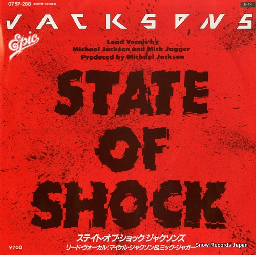 JACKSONS state of shock 07.5P-288 - front cover
